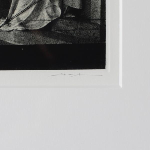 装置-ポムレーの入り口 北川健次銅版画集 黄金律-NANTESに降る七月の雨