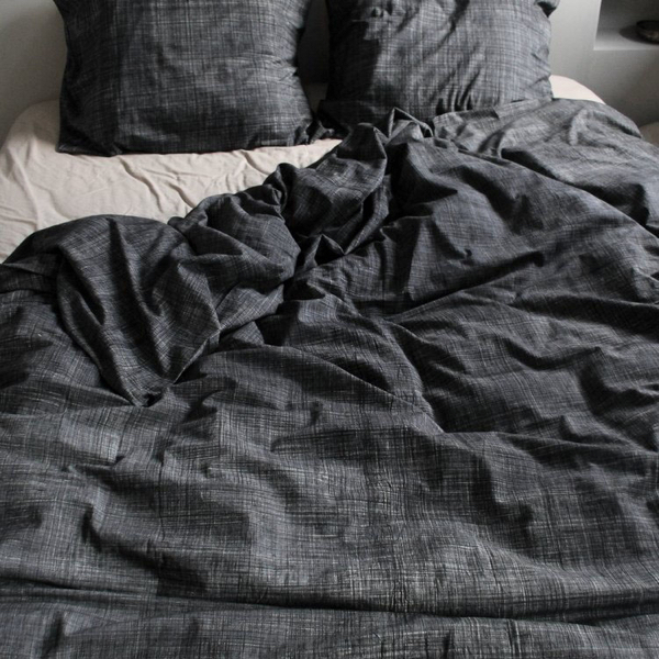 Duvet Cover with greyish blue color by x+l