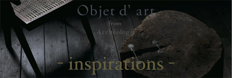 -inspirations-  Objet d' art from Archeologie at ygion