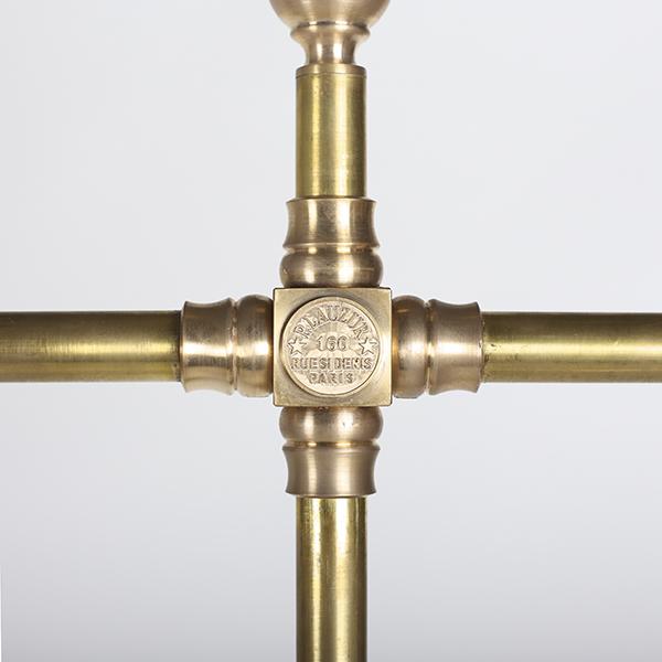 Brass bending hanger rack