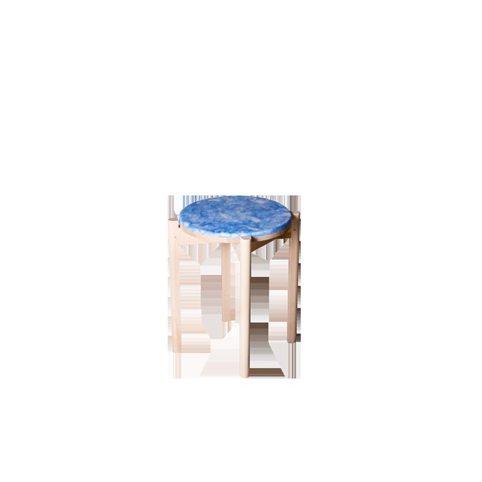 Re.und [ pla ] stool