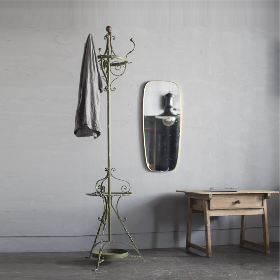 Early 20th Century Wrought Iron Hat and Coat Stand