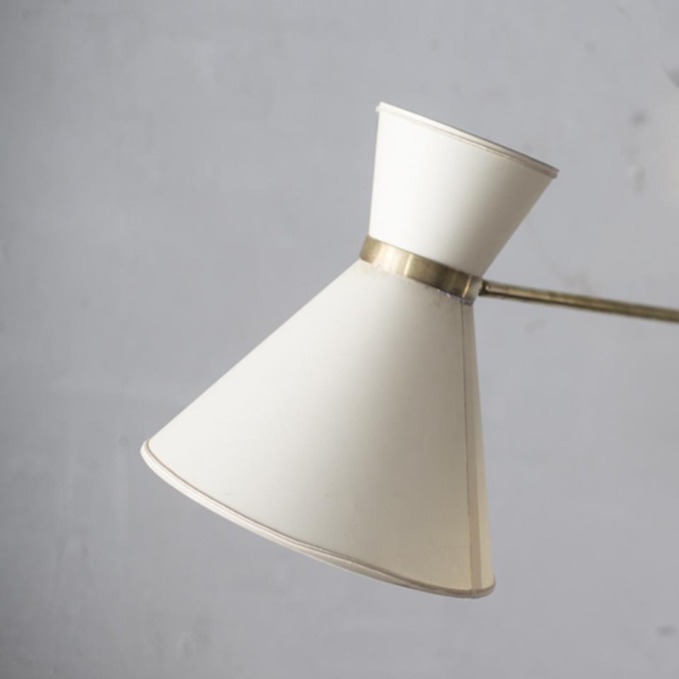 Articulated Brass Wall Lamp