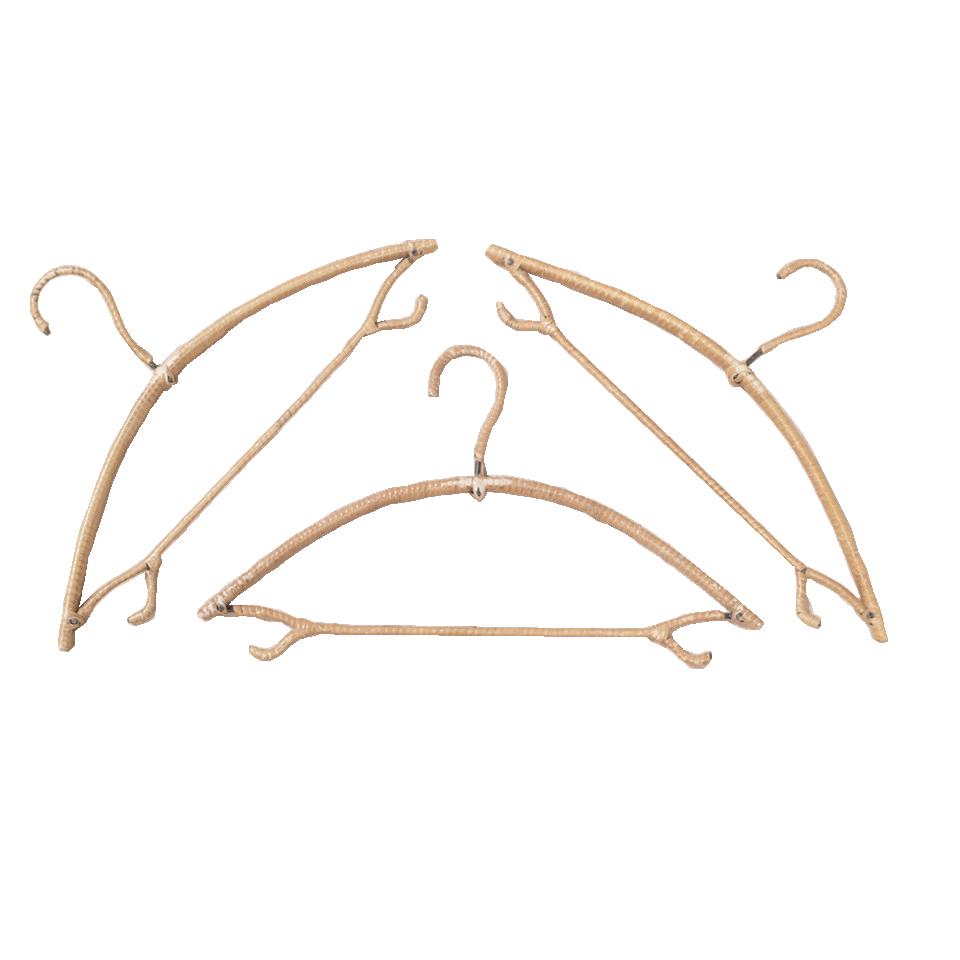 French Rattan Hangers