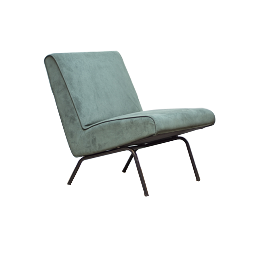 Joseph Andre Motte Slipper Chair 743 for Steiner