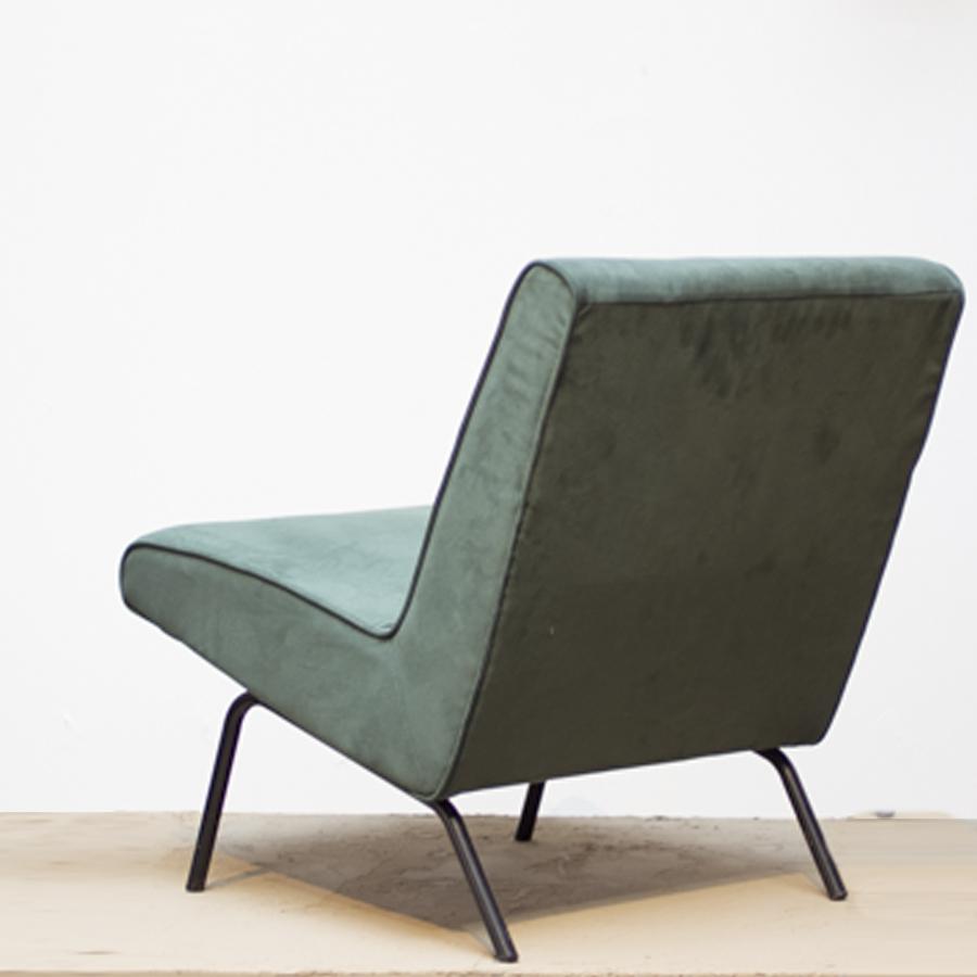 Joseph Andre Motte Slipper Chair 743 for Steiner