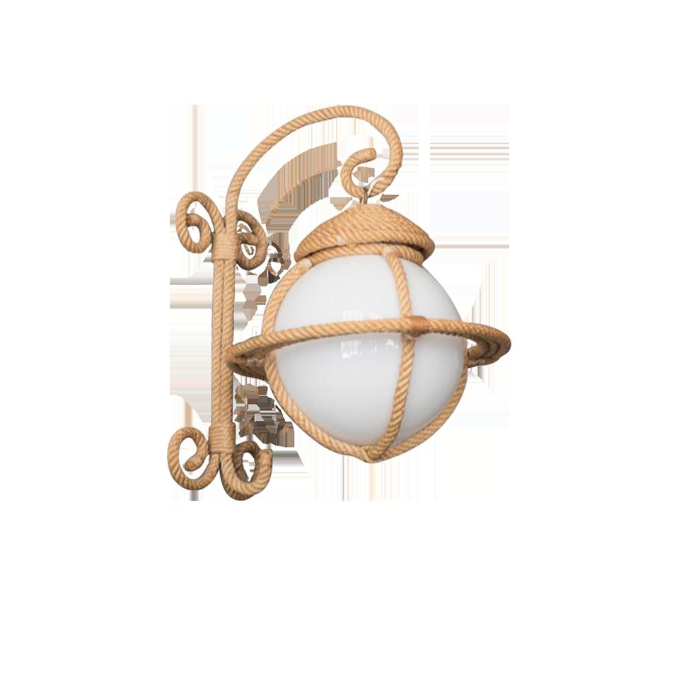 Rope Bracket Light by Audoux-Minet