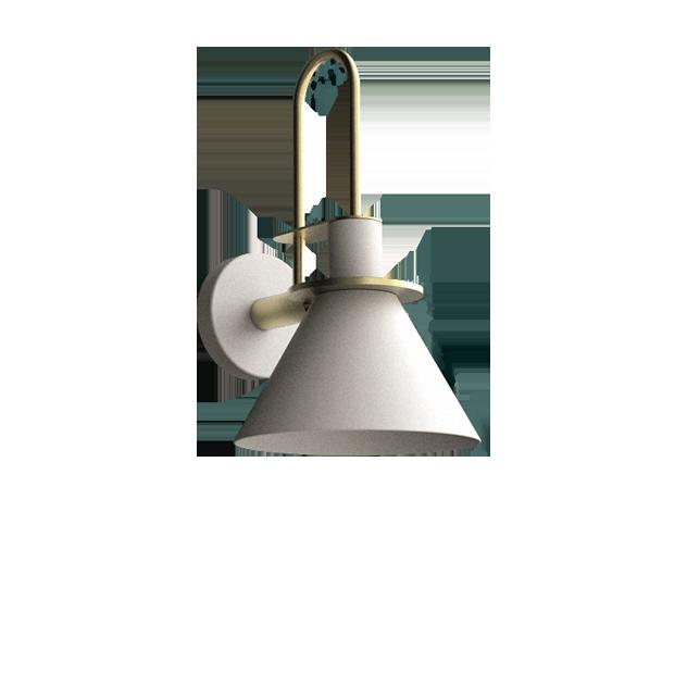 Trumpet Modern Wall Light